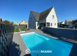 Superbe maison avec piscine et jardin !